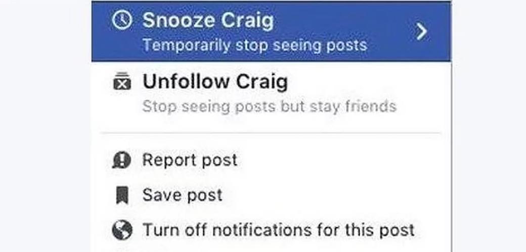 Slika: Facebook testira Snooze dugme