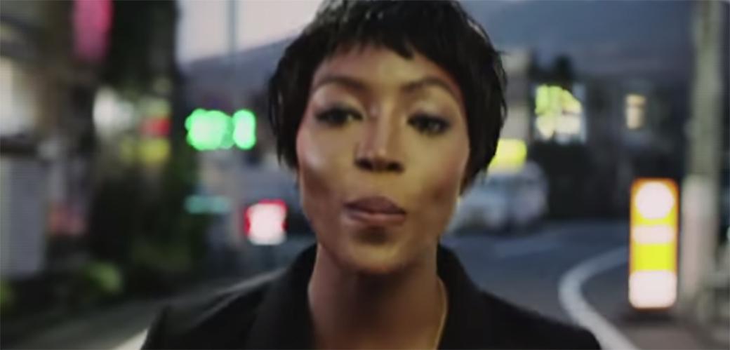 Slika: Naomi Campbell za kampanju H&M