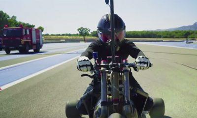 Tricikl koji ubrzava do 100 za pola sekunde