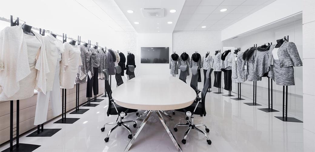 Slika: Enterijer poslovnog prostora modne kuće Luna