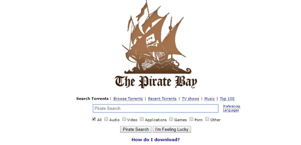 Slika: Koristite Pirate Bay?