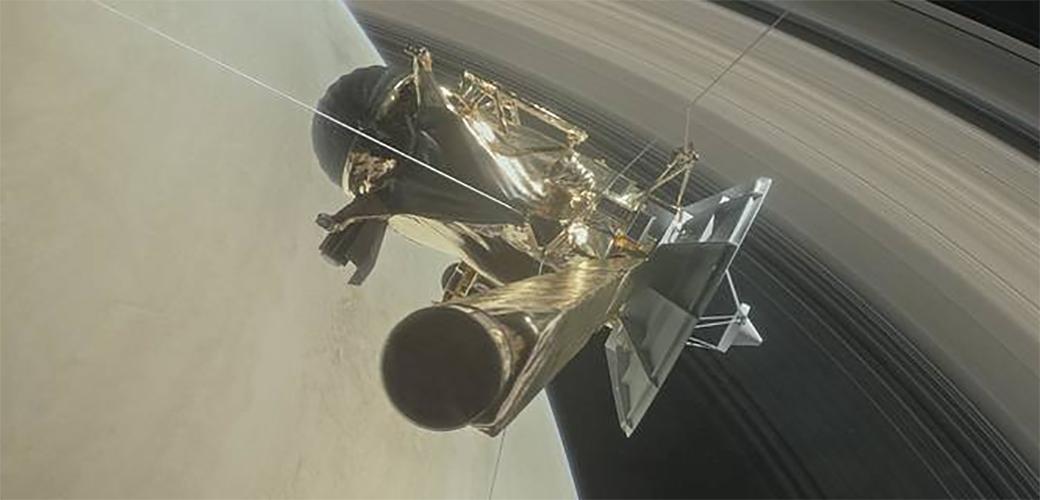 Slika: Nasina letelica Caassini u petak će umreti