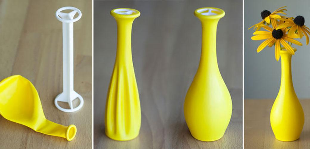 Slika: Vaza od balona je vrlo praktična