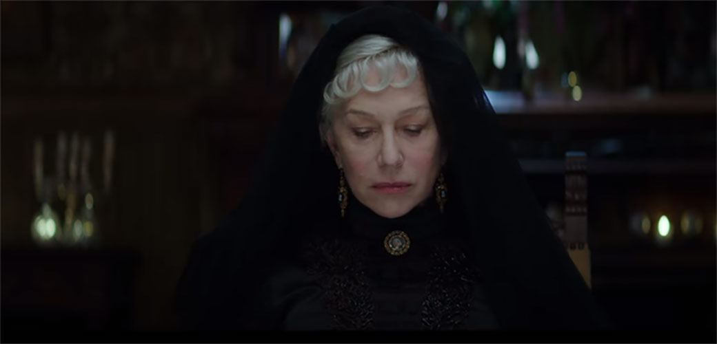 Slika: Helen Mirren u filmu Winchester: The House That Ghosts Built