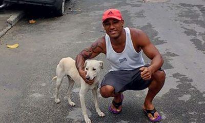Nesrećni tip iz Brazila i nevljali pas se sprijateljili