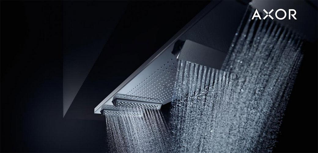 AXOR predstavlja novu tehnologiju raspršivanja mlaza vode
