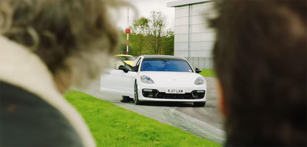 Slika: Mark Webber u emisiji The Grand Tour