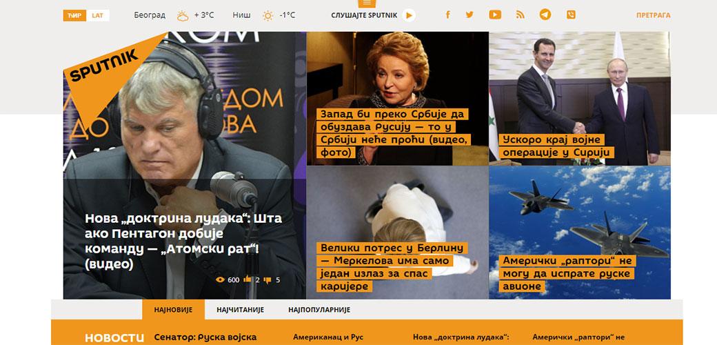 Google ubija Russia today i Sputnik