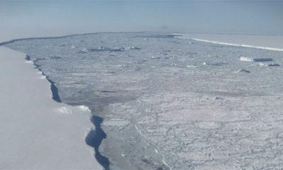 NASA snimila ogromnu ledenu santu