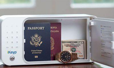 Prenosivi sef je idealan za putovanja