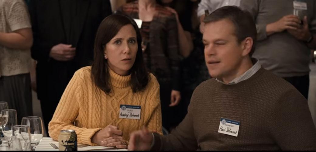 Matt Damon i Christoph Waltz u filmu