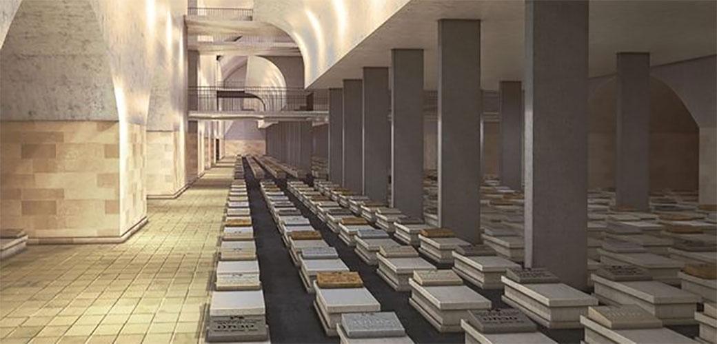 Grad mrtvih počinje da se gradi