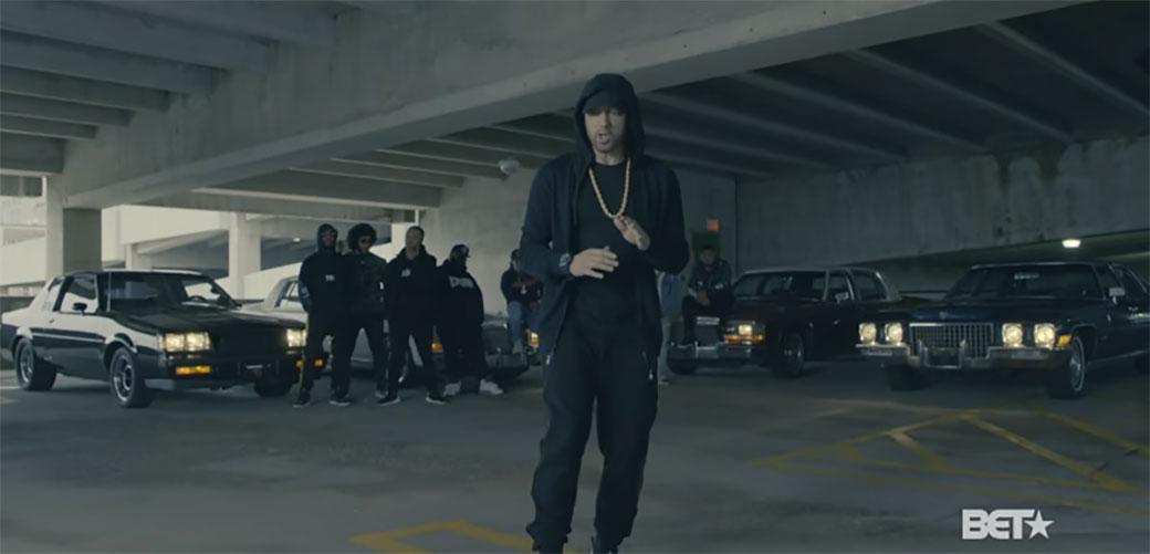 Slika: Eminem i Beyonce zajedno u pesmi