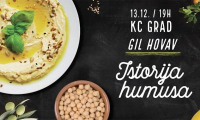 Humus veče uz poznatog izraelskog gastronoma Gila Hovava