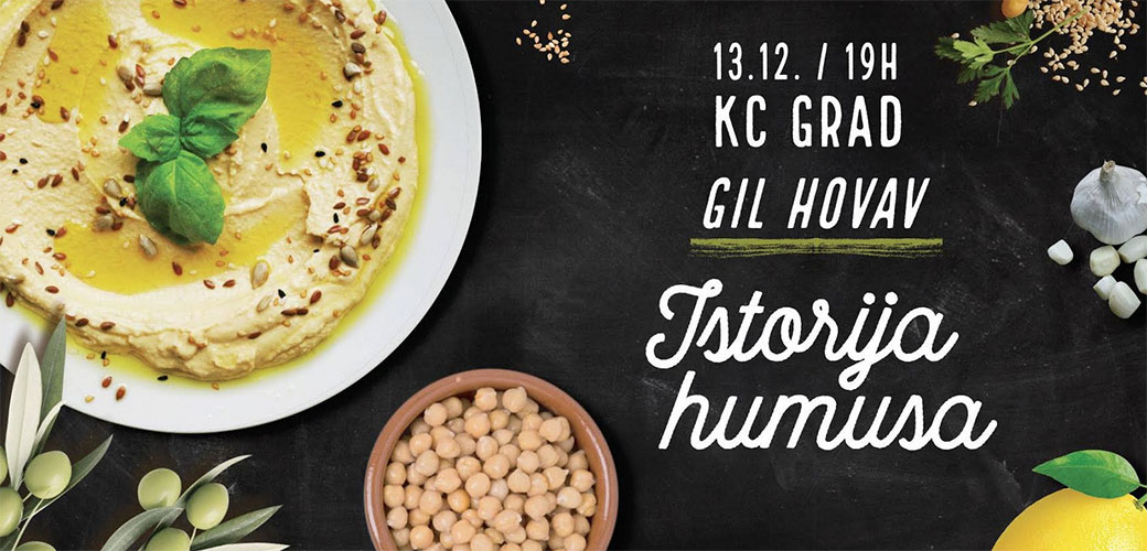 Slika: Humus veče uz poznatog izraelskog gastronoma Gila Hovava
