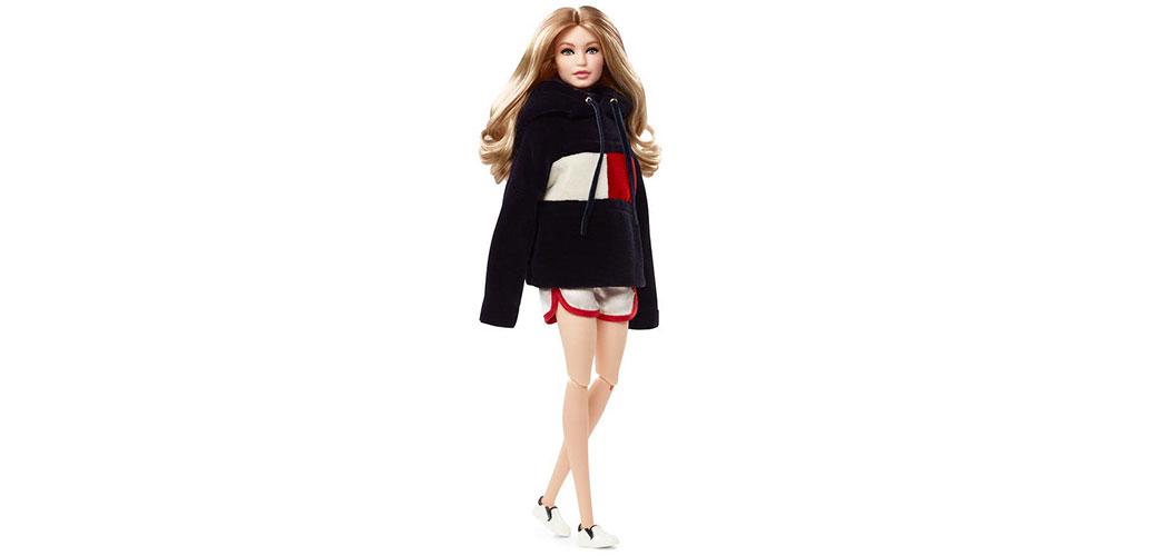 Slika: GIGI HADID Barbie lutka u saradnji sa brendom TOMMY HILFIGER