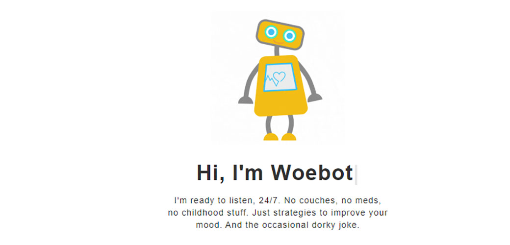 Robot pomaže depresivnima