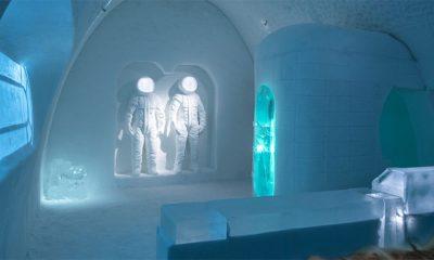 Ponovo je napravljen hotel od leda