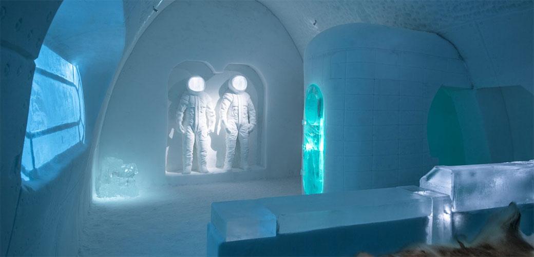 Slika: Ponovo je napravljen hotel od leda