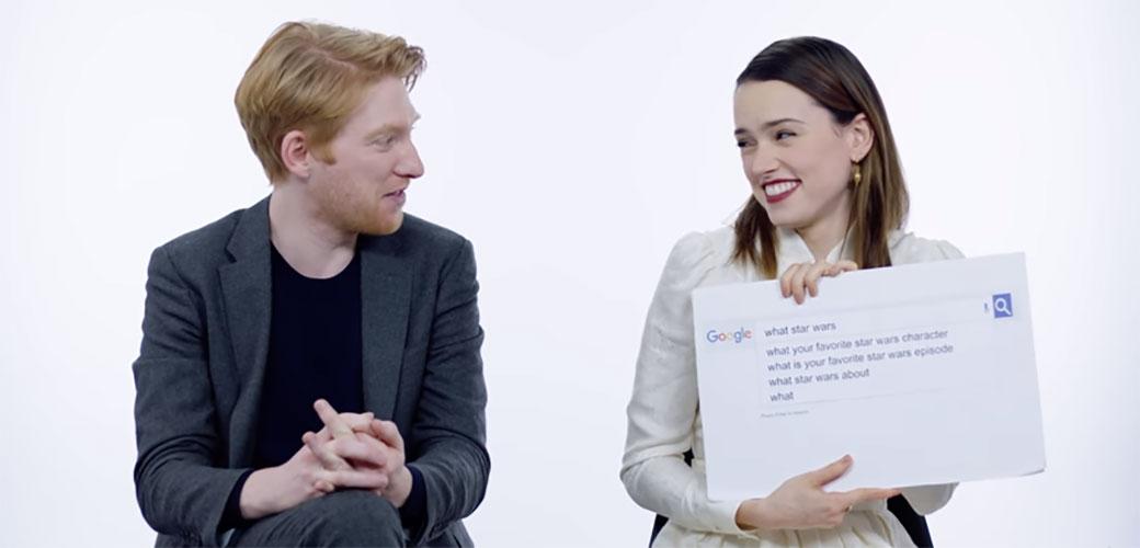 Star Wars zvezde odgovaraju na Google pitanja
