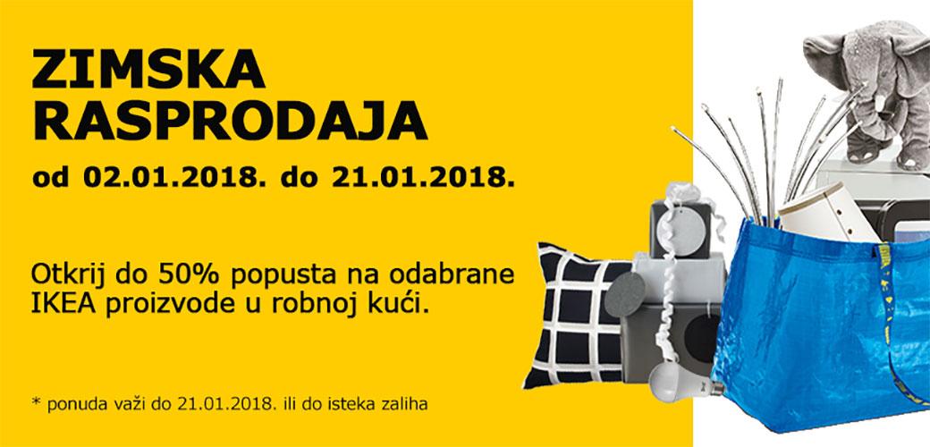 IKEA: Počela zimska rasprodaja