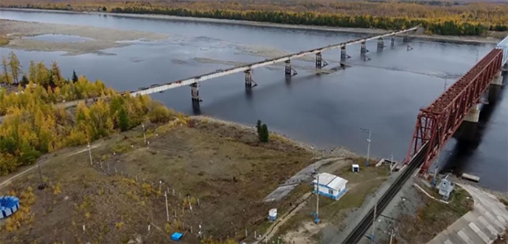 Zastrašujući most u Sibiru