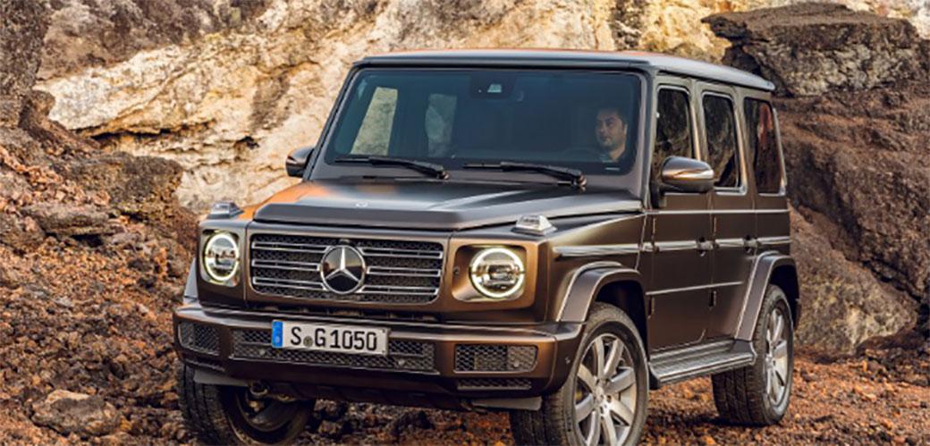 Ovo je nova Mercedesova G klasa