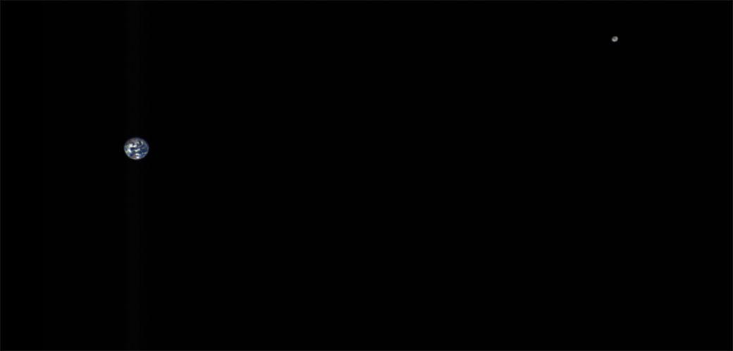 Slika: Neverovatni pogled na Zemlju i Mesec