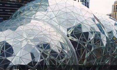 Amazon pravi Sfere umesto kancelarija  %Post Title
