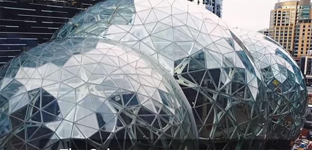 Amazon pravi Sfere umesto kancelarija