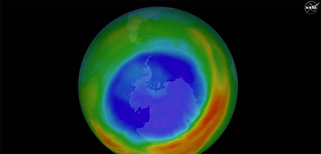Ozonska rupa se smanjuje