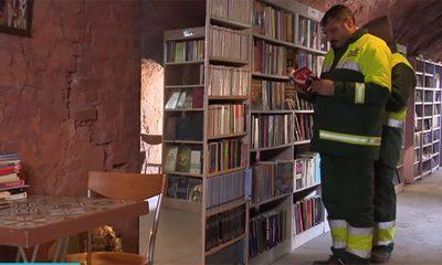 Đubretari napravili biblioteku