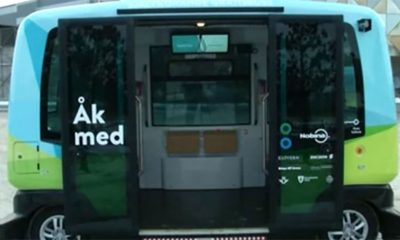 Autobusi bez vozača u Stokholmu