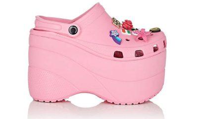 Balenciaga x Crocs platforme