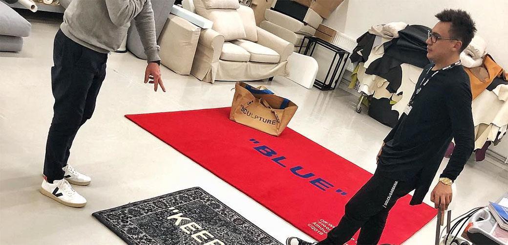 IKEA i Virgil Abloh imaju nove tepihe