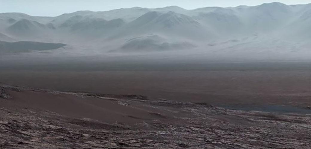 Neverovatni snimak sa Marsa