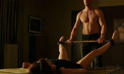 Kako su se gospodin i gospođa Grey spremali za gole scene  %Post Title