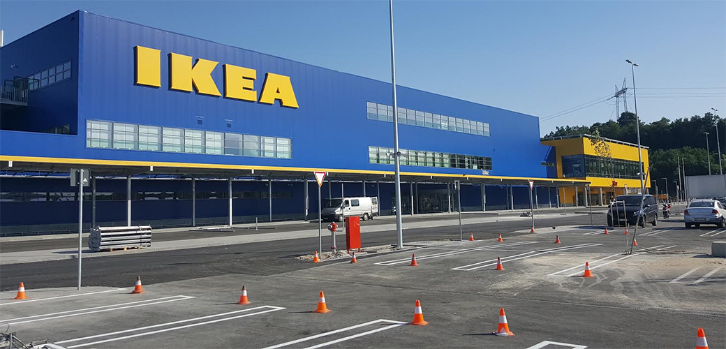 IKEA gradi Retail park?