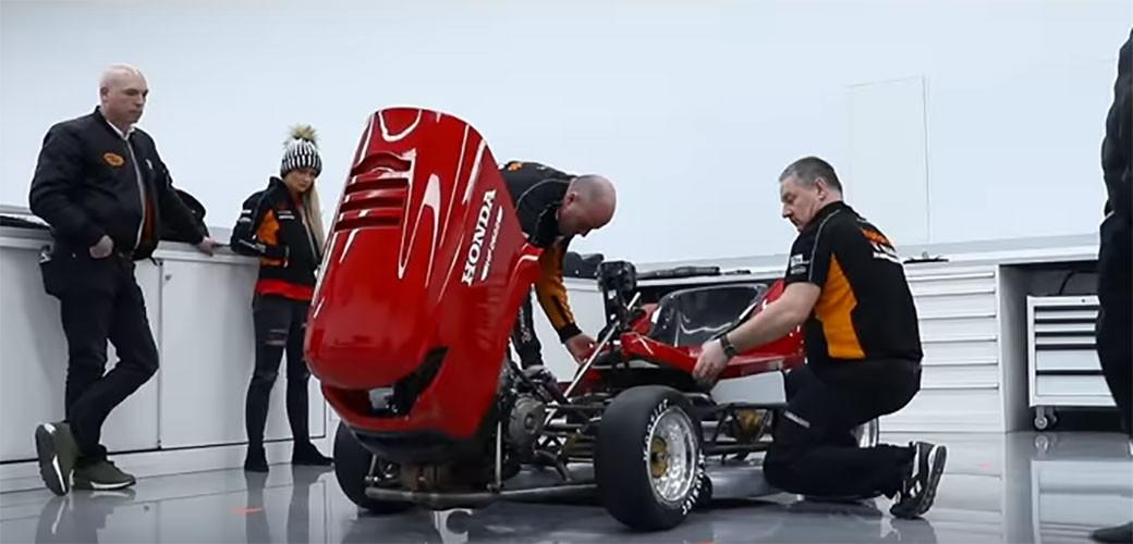 Honda: Najbrža kosilica iz pakla se vratila