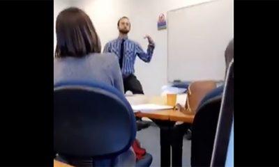 Profesor naterao studenta da igra