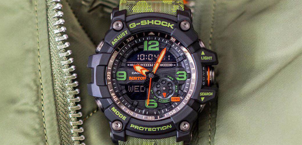 Burton i Casio napravili sat za posebne ludake