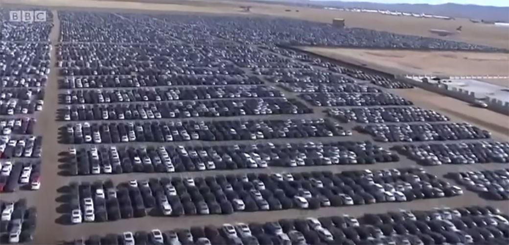 Ovo je najveće groblje automobila na svetu