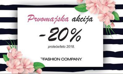 Prvomajska akcija u Fashion Company