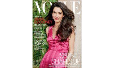 Amal Clooney na Vogue naslovnoj
