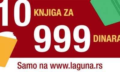 10 knjiga za 999 dinara u Laguni  %Post Title