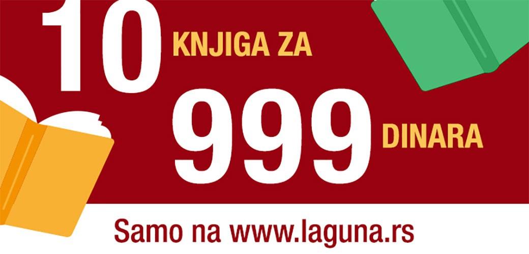 10 knjiga za 999 dinara u Laguni