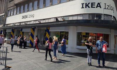 IKEA Izlog je otvoren