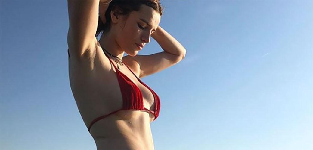 Bella Thorne pokazala dlake