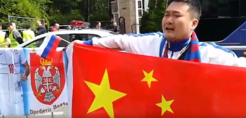 Kinez koji peva Bože pravde je potpuni hit