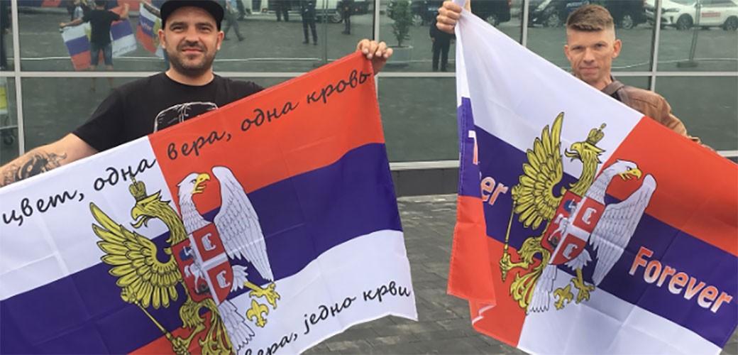 Evo kako su Rusi dočekali fudbalere Srbije